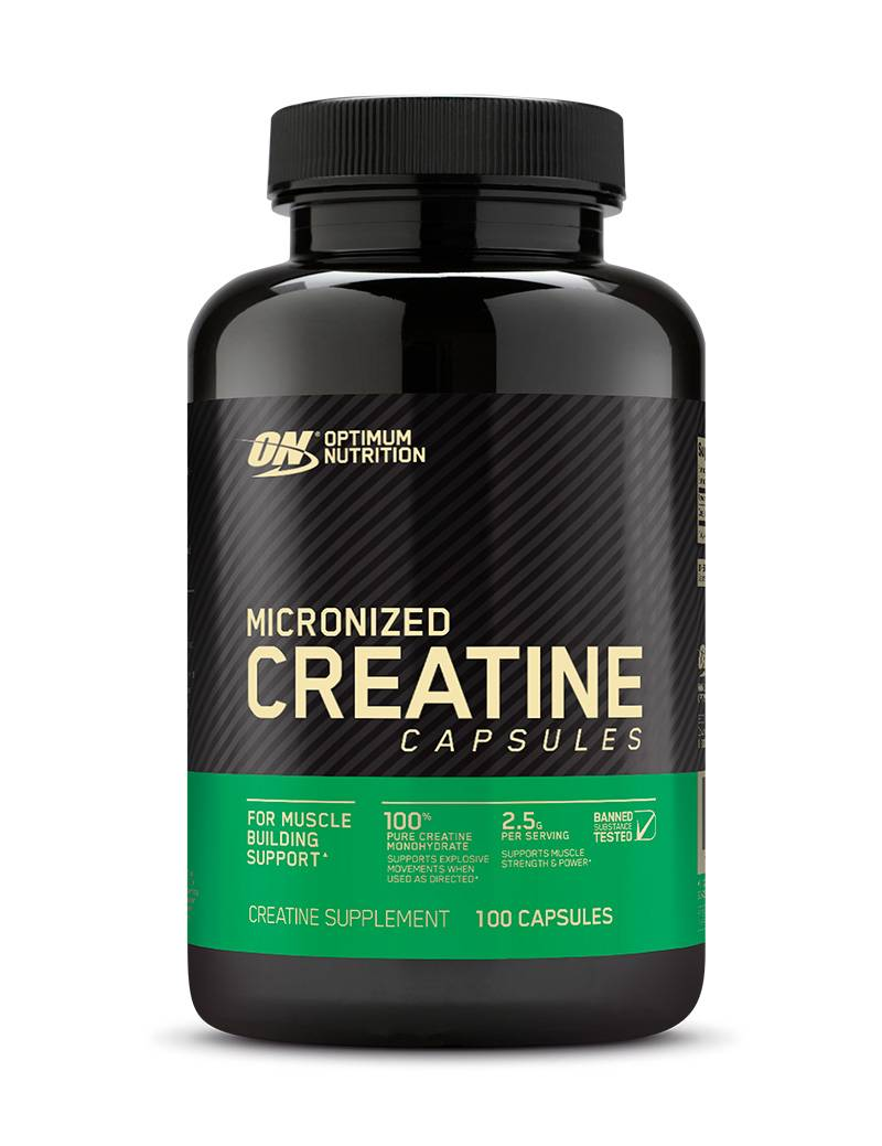 Creatine 2500 caps optimum nutrition * как принимать креатин от on
