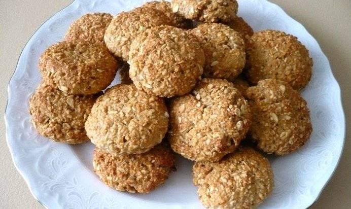 Печенье из овсяных хлопьев: 6 очень вкусных диетических рецептов