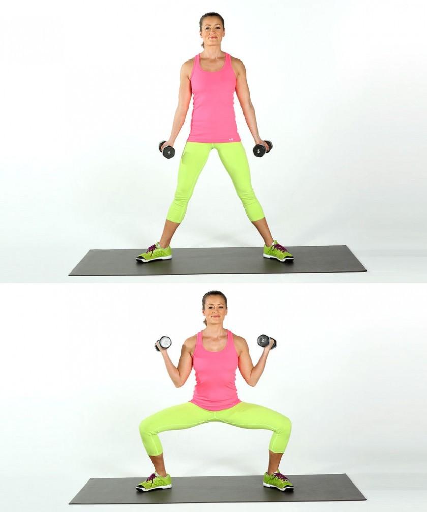 Упражнения с гантелями для женщин — sportfito — сайт о спорте и здоровом образе жизни