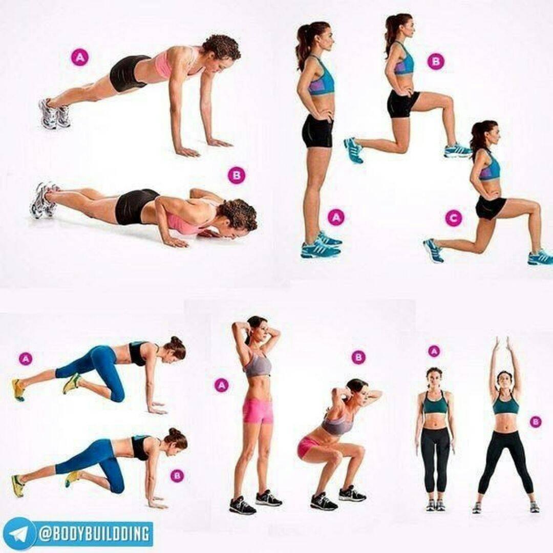 Утренняя зарядка для похудения в домашних условиях: эффективные упражнения с видео