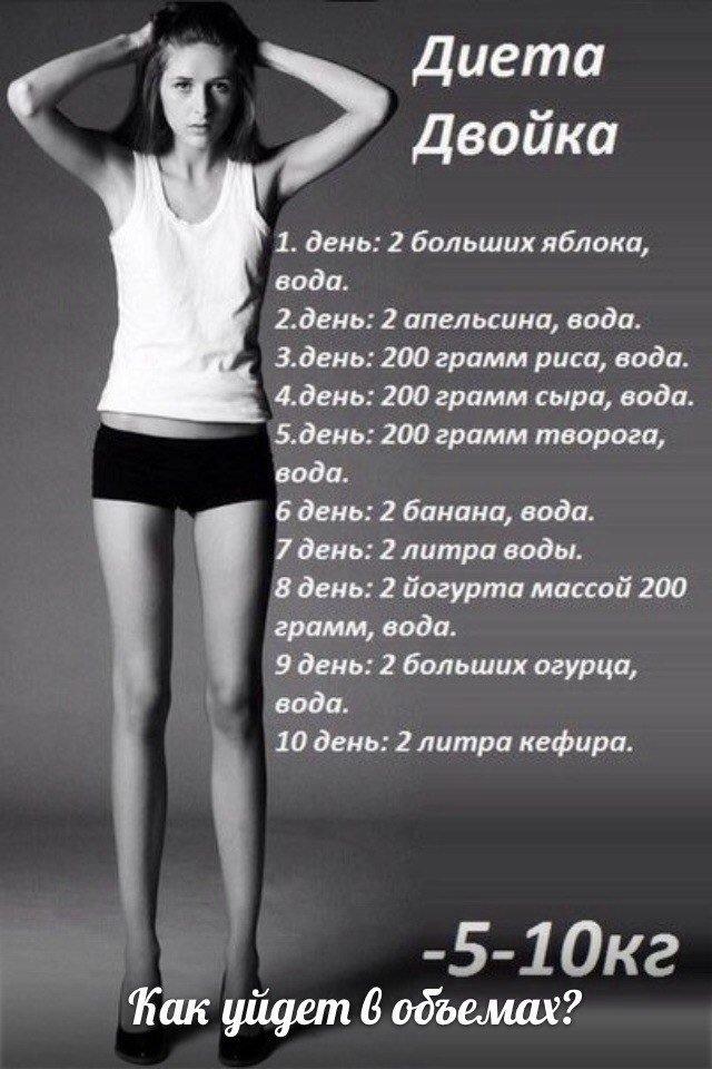 Как быстро похудеть на 5 кг за неделю народными средствами