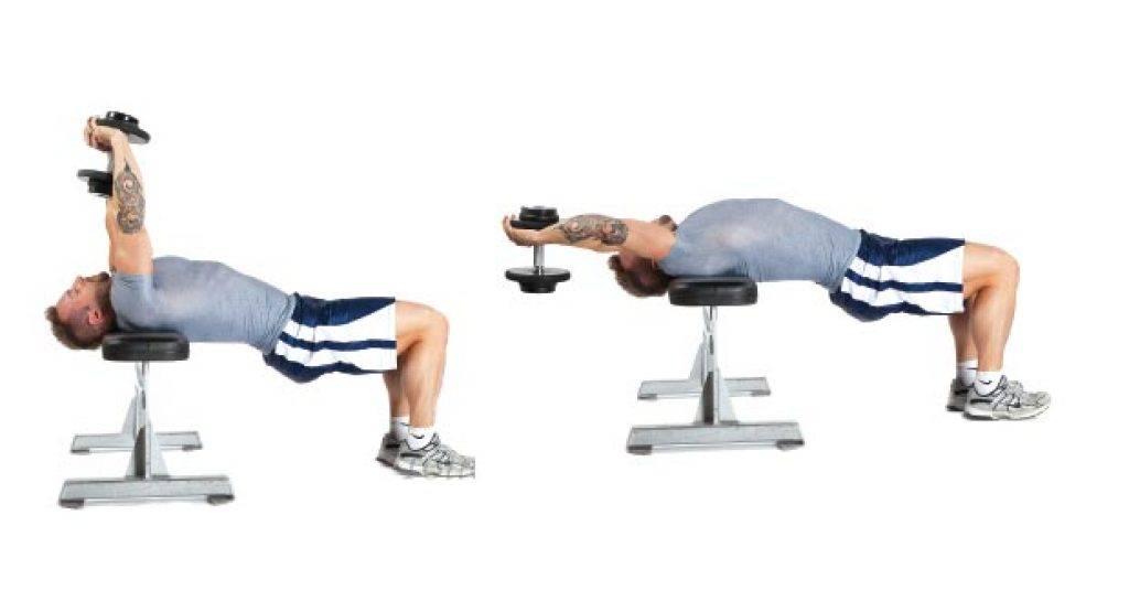 Упражнение пуловер — sportfito — сайт о спорте и здоровом образе жизни