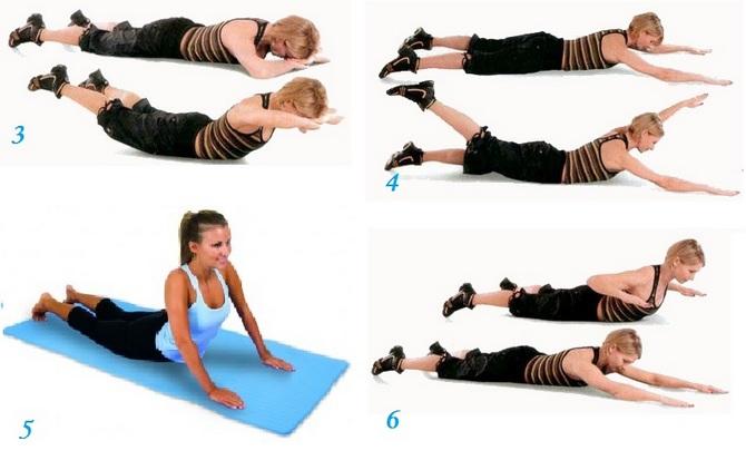 Как убрать жир со спины: комплекс упражнений в домашних условиях
