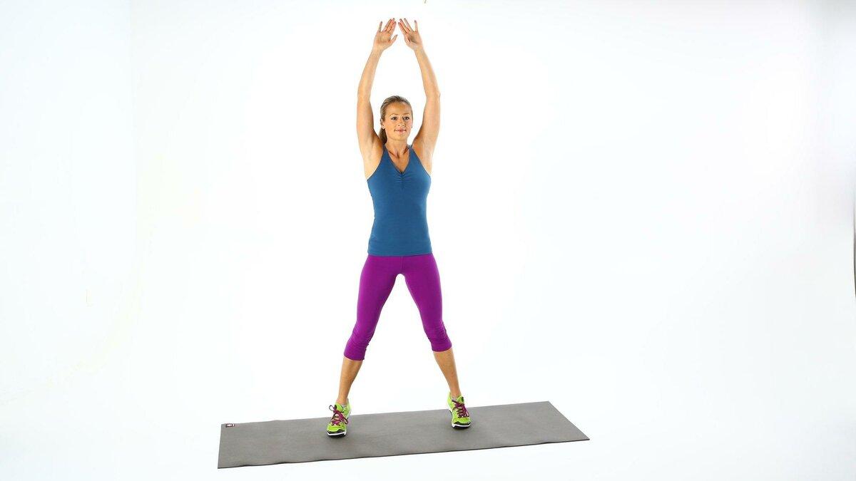 Варианты упражнения jumping jack и техника выполнения