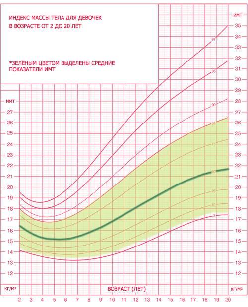 » расчет индекса массы тела
