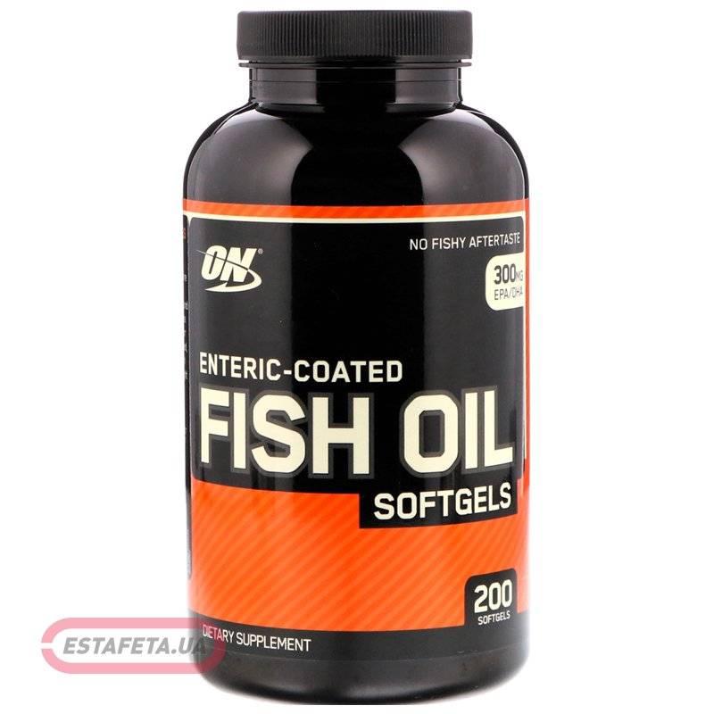 Fish oil от optimum nutrition: как принимать, состав и отзывы