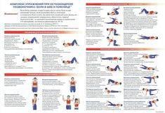 Упражнения при болях в пояснице и спине: методика выполнения