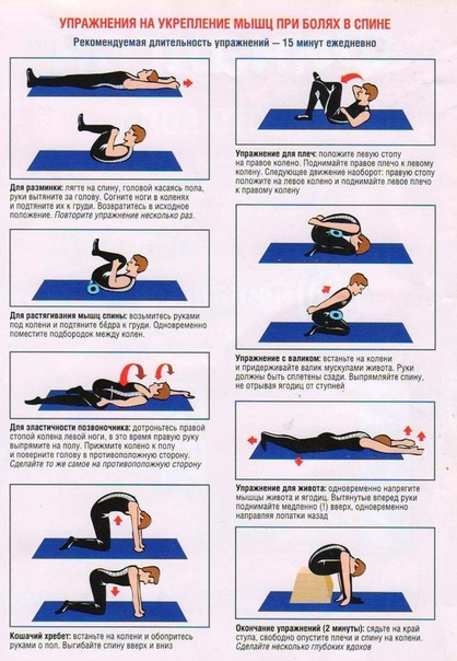 """Упражнения для укрепления мышц спины и позвоночника в домашних условиях: коплекс из 20 упражнений — """"fito"""" — красота и здоровье"""