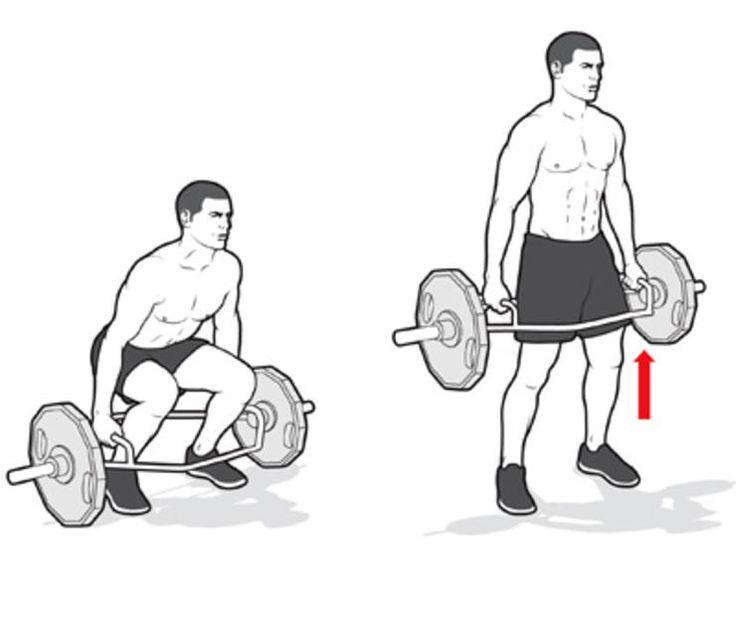 Тяга т-грифа – особенности и техника выполнения в наклоне и в упоре на тренажере