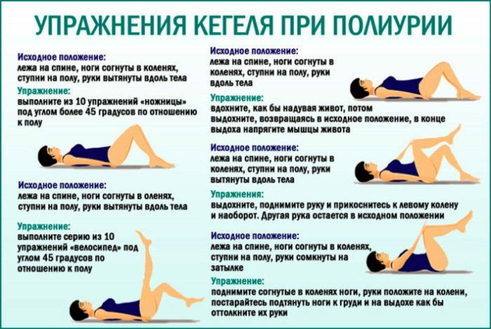 Упражнения кегеля при геморрое: гимнастика для женщин и мужчин