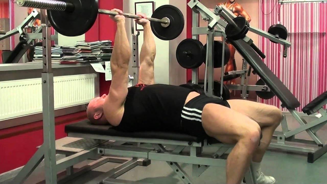Швунг жимовой: техника выполнения упражнения со штангой