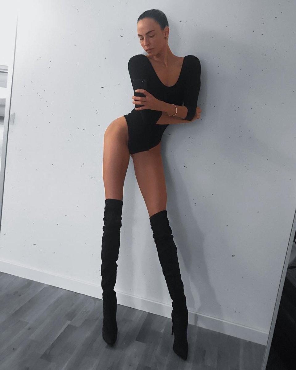 Ия Остергрен – самая длинноногая модель в мире