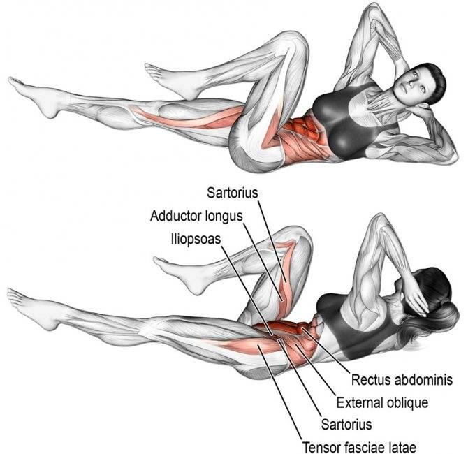 """""""скалолаз"""" - упражнение на какую группу мышц?"""