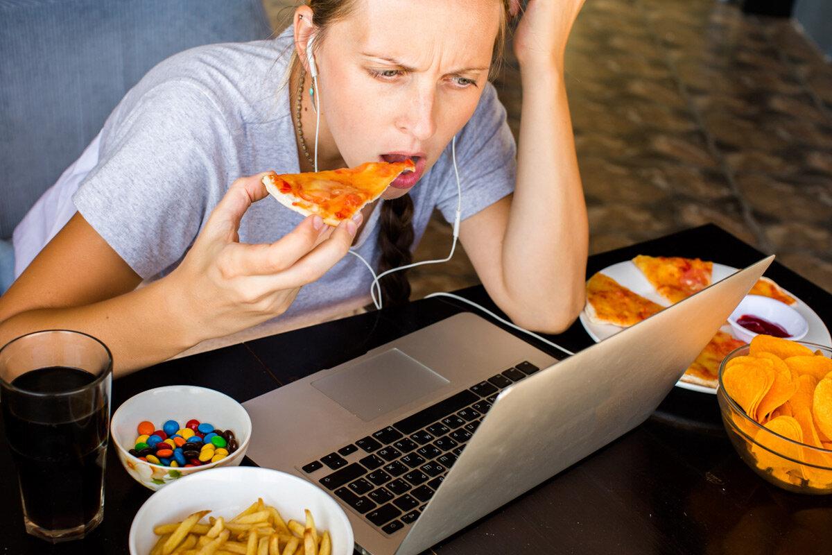 Боязнь еды. переедание: что делать после?