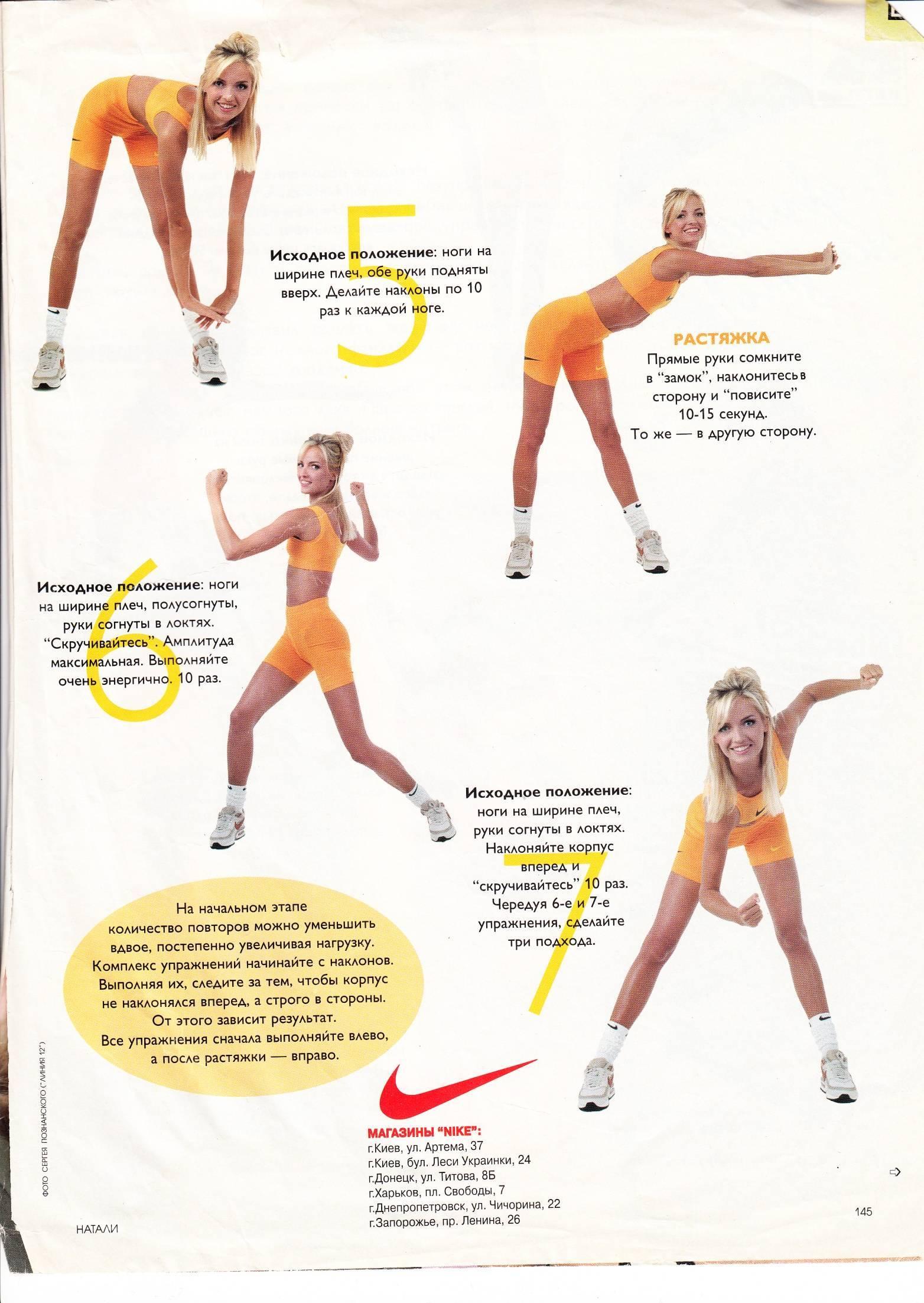 Как сделать тонкую талию и широкие бедра: упражнения, питание и советы тренера
