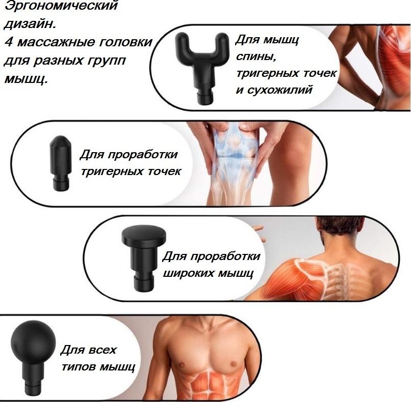 Перкуссионный массажер — рейтинг массажных пистолетов для мышц