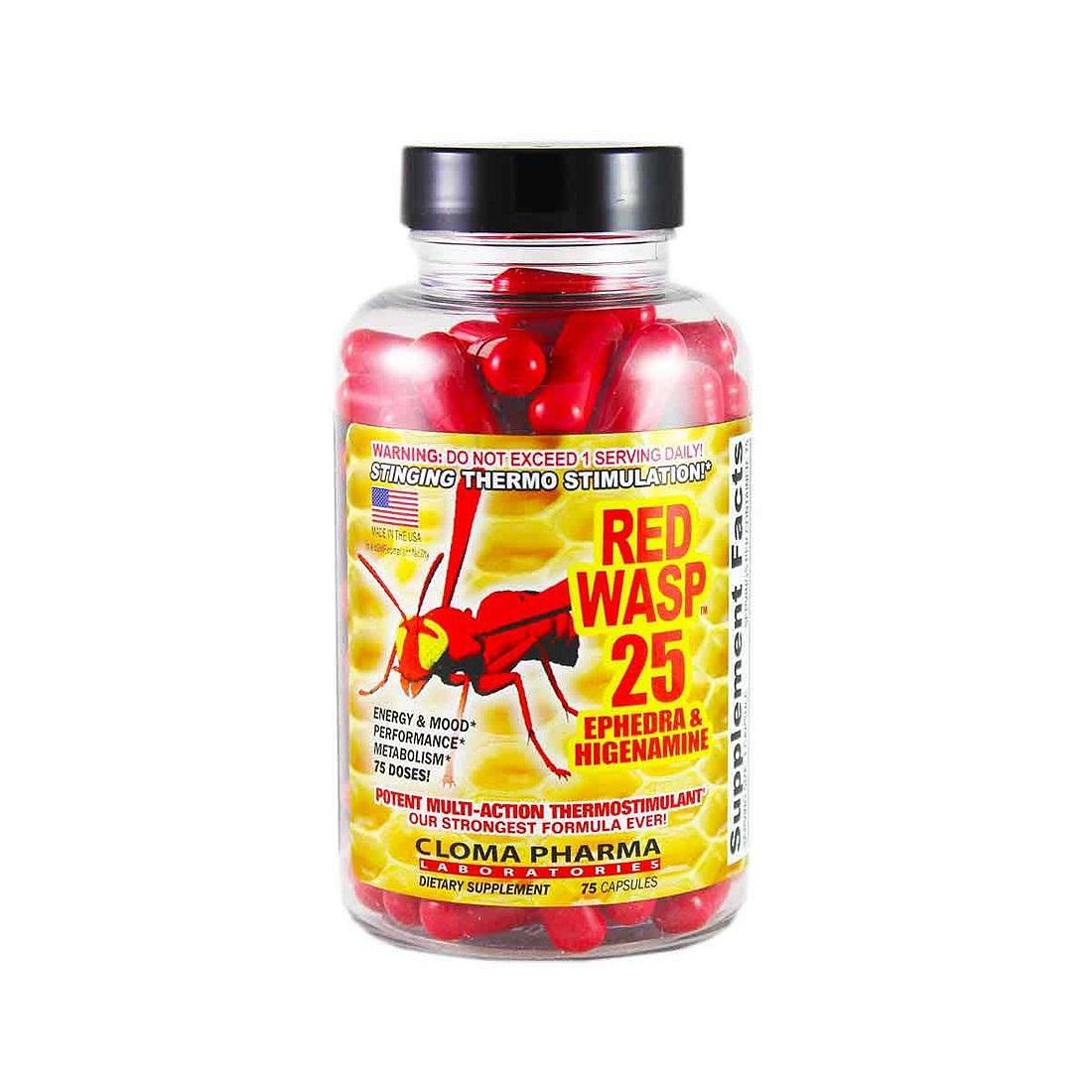 Жиросжигатель red wasp * отзывы о красная оса