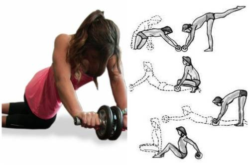 Упражнения для пресса с помощью гимнастического ролика для женщин и мужчин | rulebody.ru — правила тела