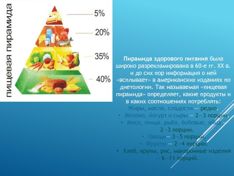 Диета от ученых: гарвардская пирамида здорового питания