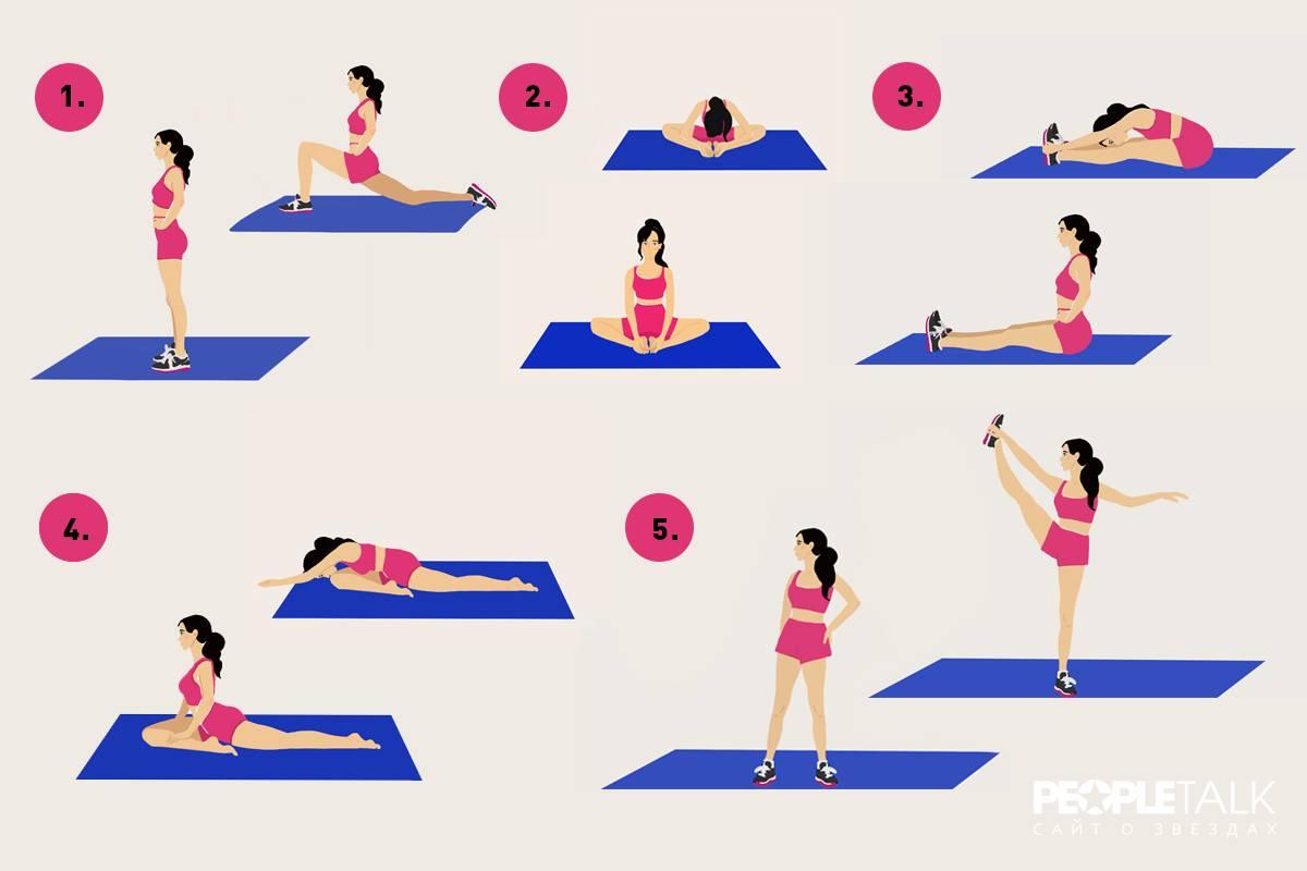 Как сесть на шпагат за месяц в домашних условиях, какие необходимо для этого делать упражнения