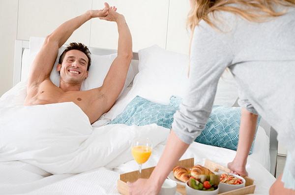 Какой заботы мужчина ждет от женщины? - я - женщина