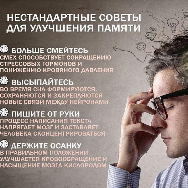 Таблетки для улучшения мозговой деятельности и памяти