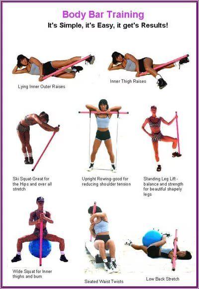 Бодибар - эффективный снаряд для красивой фигуры упражнения с бдибаром для похудения