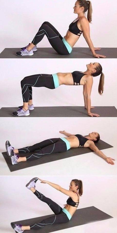 Как убрать складки на спине: в короткие сроки, упражнения в домашних условиях