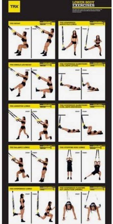 Как тренироваться с trx петлями + комплексы упражнений для всех уровней подготовки
