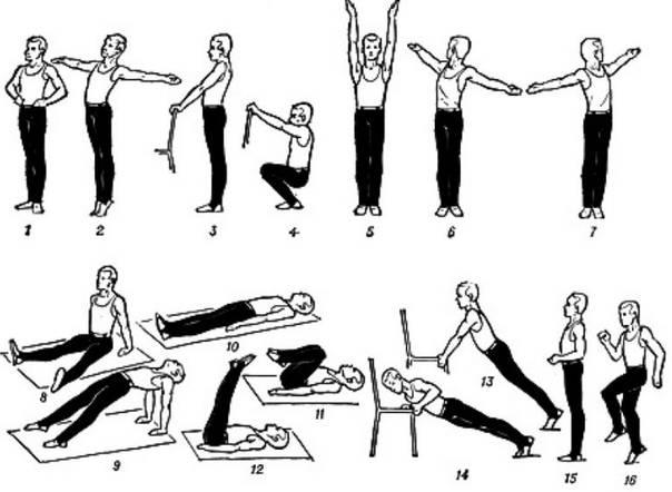 Утренняя зарядка – правила выполнения, комплекс упражнений и их эффективность