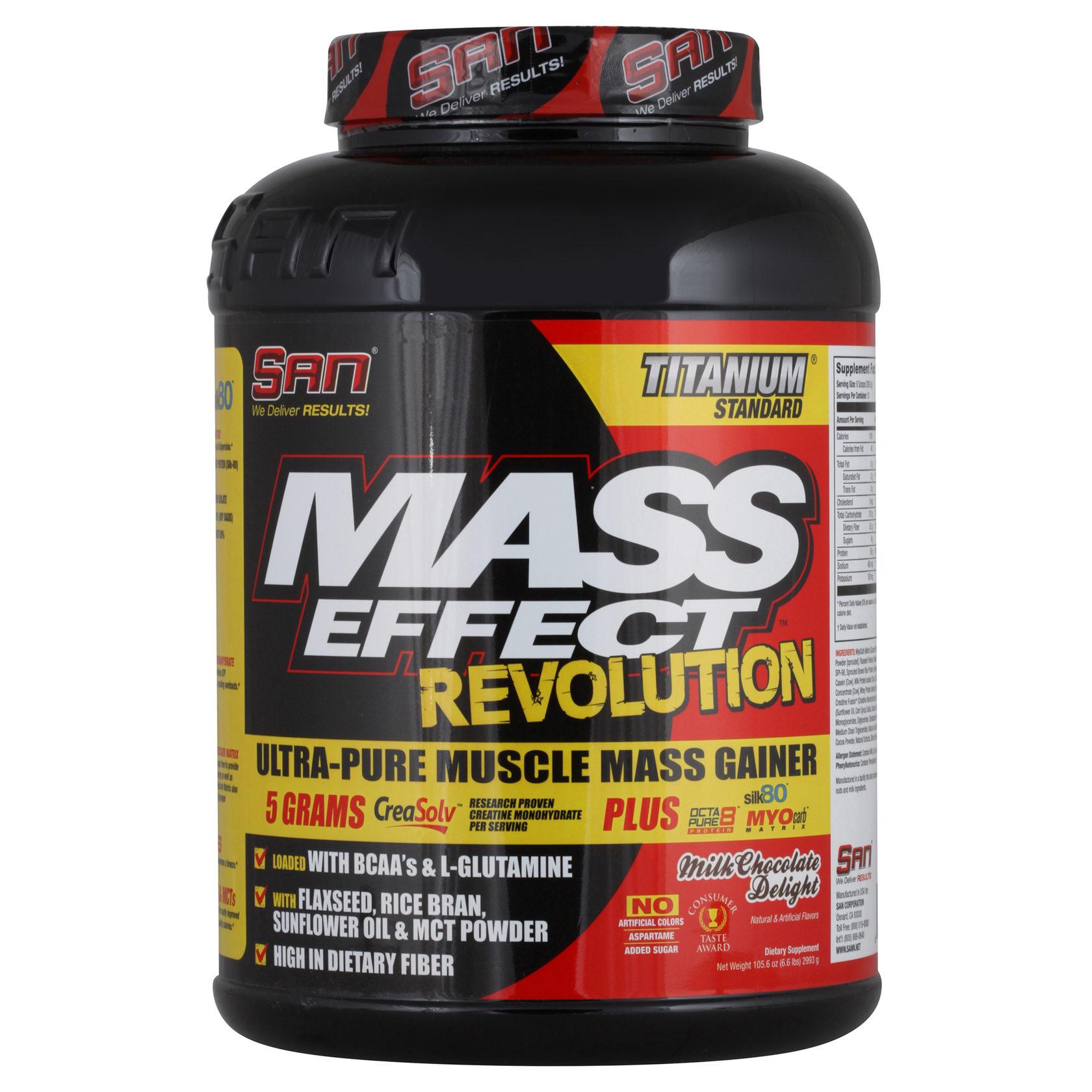 Mass effect revolution: состав гейнера и способ применения