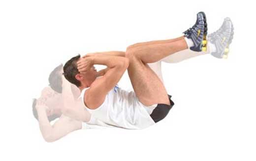 Боковые скручивания на полу: техника выполнения, какие мышцы работают