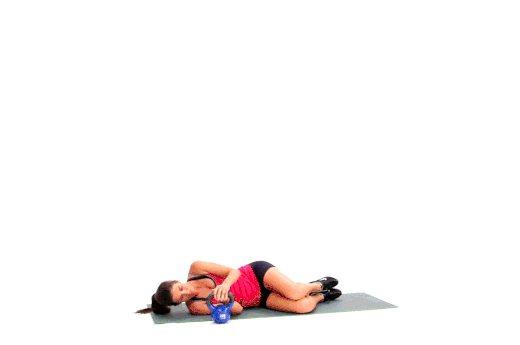 Турецкий подъем с гирей: польза и техника упражнения