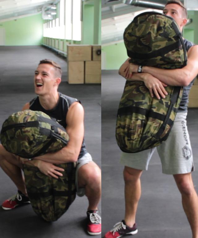 Сэндбэг - упражнения, тренировка с сэндбэгом, цена, сумка-утяжелитель