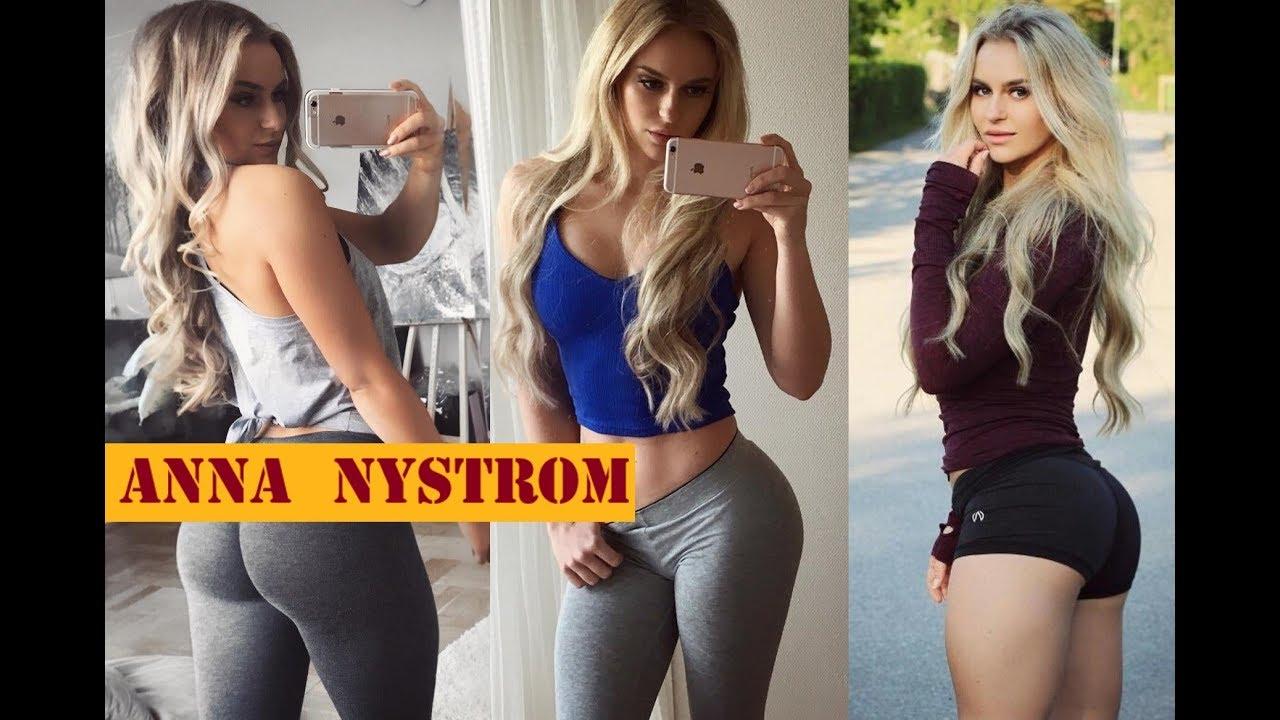 Анна нистром — шведская фитоняшка с инстаграм