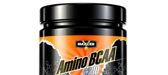 Amino bcaa 4200 от maxler: описание и состав