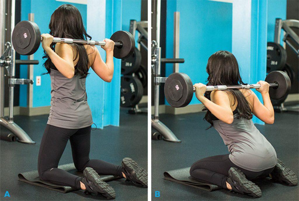 Тренировка ягодиц для девушек в тренажерном зале: фото упражнений
