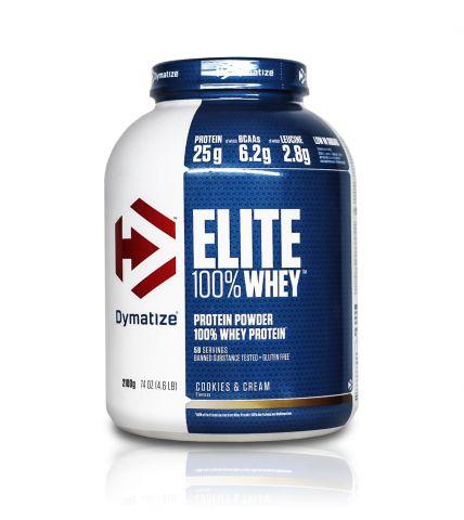 Elite whey protein — 5lb — 2300g (dymatize)