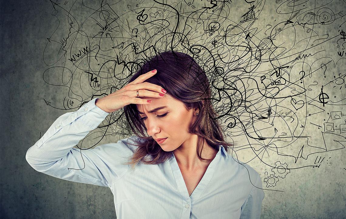 """Как избавиться от навязчивых мыслей и перестать жевать """"мысленную жвачку"""""""