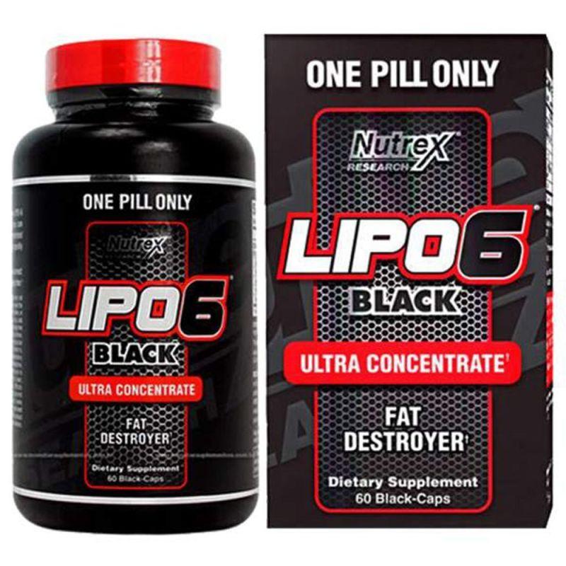 Lipo 6 black: состав, как принимать