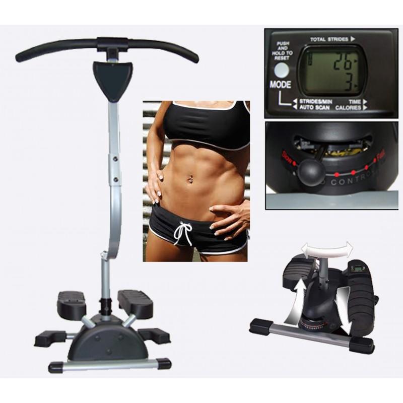 Кардио слим — тренажер твистер для похудения в домашних условиях