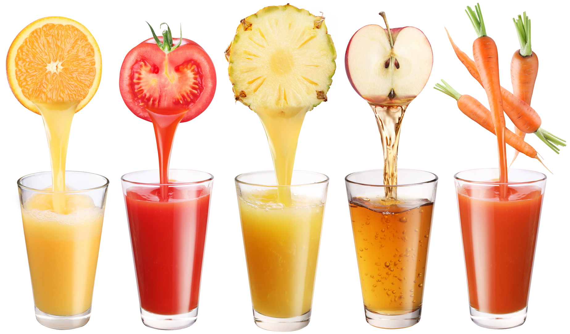 Открой секреты пользы овощных соков