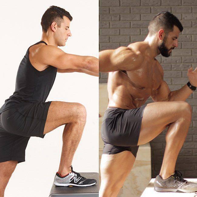 Тренировка ног в тренажерном зале - лучшие упражнения
