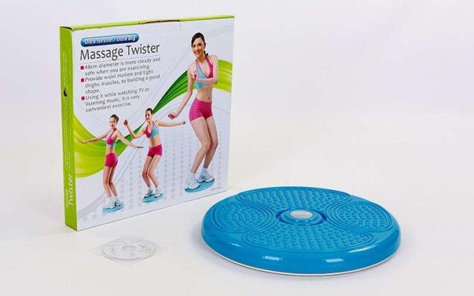 Наиболее действенные упражнения на диске здоровья для похудения