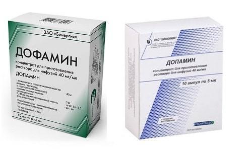 Симптомы избытка дофамина