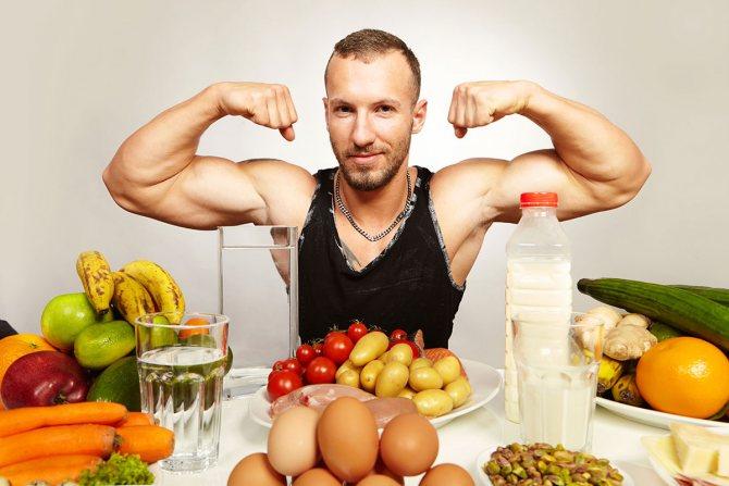 Как составить программу питания для набора мышечной массы?