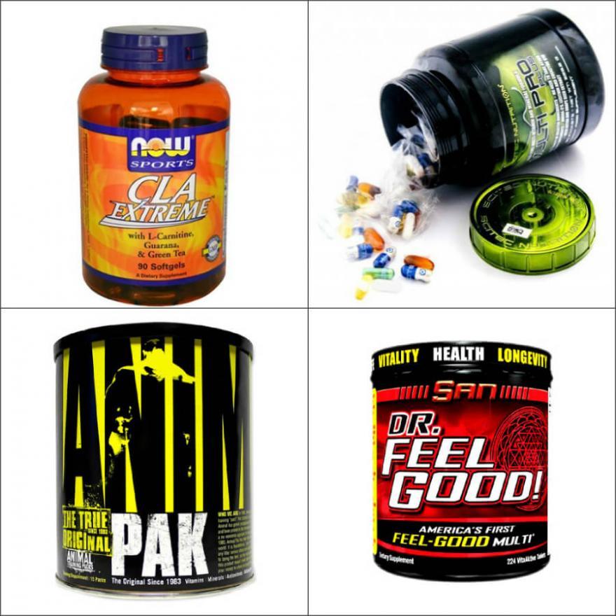 Витамины для спортсменов: лучшие комплексы