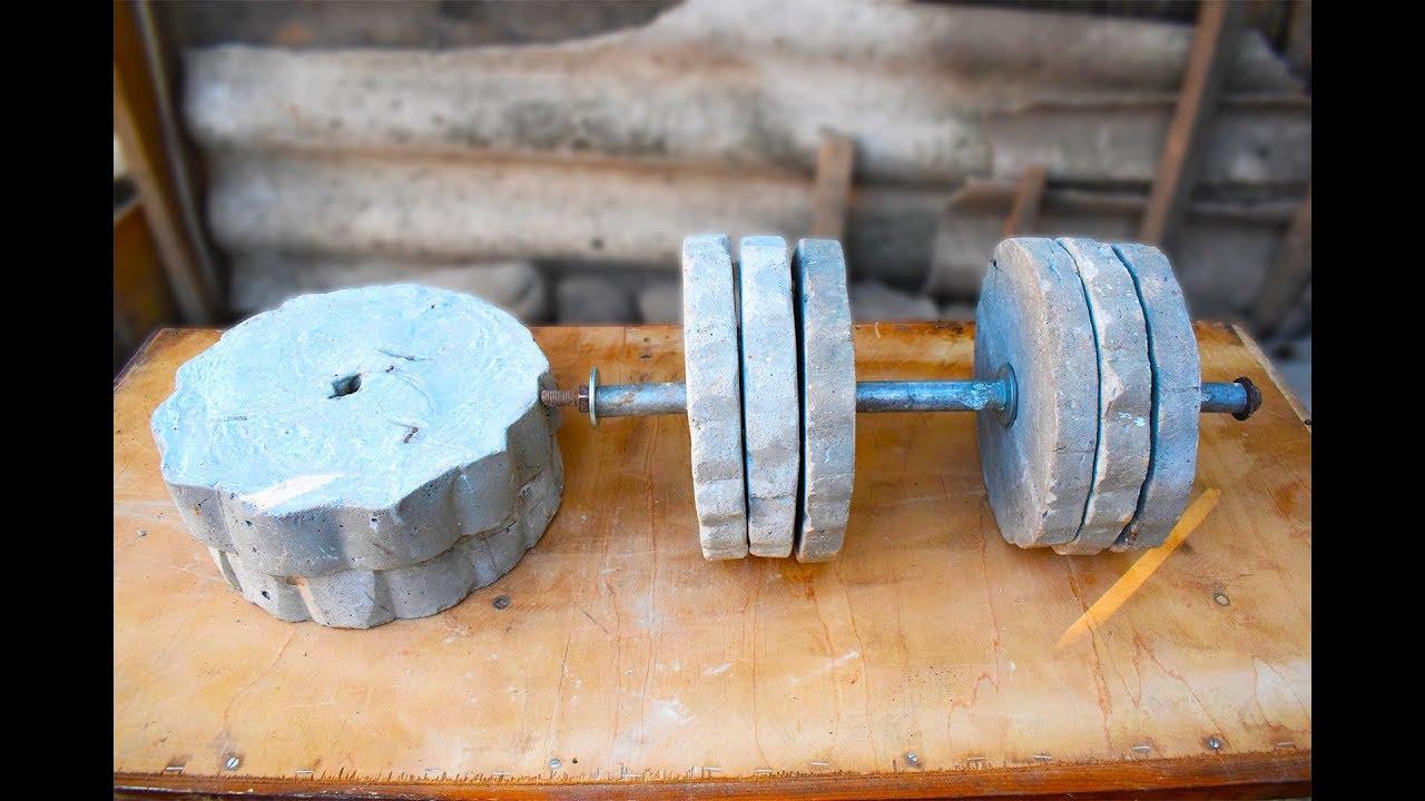 Этапы изготовления штанги своими руками, нюансы подбора веса блинов