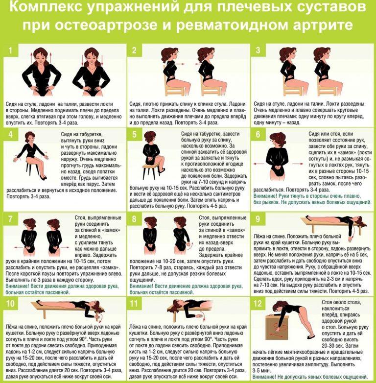 Суставная гимнастика: комплекс лечебных упражнений в домашних условиях для развития суставов при заболеваниях