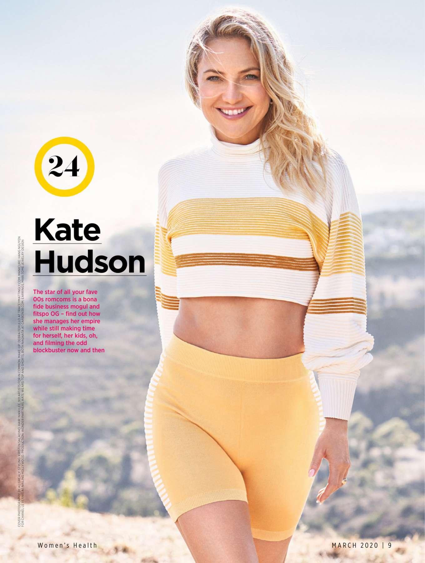 Кейт хадсон: «главное – не бояться!»